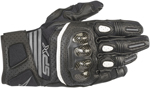 Alpinestars Women's Stella SP-X Air Carbon V2 Leather Riding Gloves (Black/Anthracite Gray)