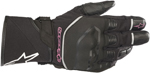 Alpinestars Women's Stella ANDES Touring Drystar Gloves (Black/Pink)
