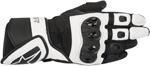 Alpinestars Stella SP AIR Leather/Mesh Gloves (Black/White)
