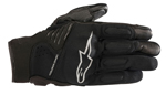 Alpinestars Women's Stella FASTER Textile/Leather Touchscreen Riding Gloves (Black/Black)