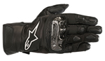 Alpinestars Women's Stella SP-2 V2 Leather Touchscreen Riding Gloves (Black)