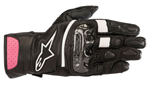 Alpinestars Women's Stella SP-2 V2 Leather Touchscreen Riding Gloves (Black/Pink)