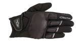 Alpinestars Women's Stella ATOM Leather/Textile/Mesh Touchscreen Riding Gloves (Black)