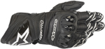 Alpinestars GP PRO R3 Leather Road Racing Gloves (Black)