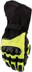 Moose Racing MX Off-Road ADV1 Long Gloves (Black/Hi-Viz Yellow)