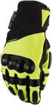 Moose Racing MX Off-Road ADV1 Short Gloves (Black/Hi-Viz Yellow)