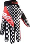 100% MX Motocross RIDEFIT Legend Gloves (Black/White/Red)