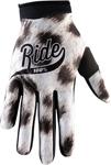 100% MX Motocross I-TRACK Ride Gloves (Black/White)