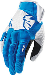 THOR MX Motocross 2015 FLOW Gloves (Blue/White)
