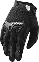 THOR MX Motocross 2015 SPECTRUM Gloves (Black)