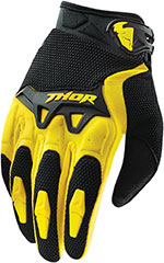 THOR MX Motocross 2015 SPECTRUM Gloves (Yellow)
