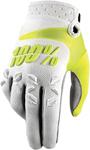 100% MX Motocross AIRMATIC Gloves (White)