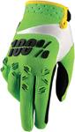 100% MX Motocross AIRMATIC Gloves (Lime Green)