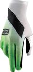 100% MX Motocross CELIUM Slant Gloves (Green/White/Black)