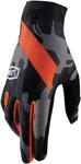 100% MX Motocross CELIUM Black Camo Gloves (Black Camo/Orange)