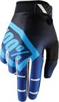 100% MX Motocross RIDEFIT Corpo Gloves (Blue)