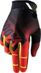 100% MX Motocross RIDEFIT Corpo Gloves (Red)