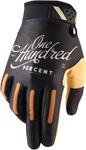 100% MX Motocross RIDEFIT Classic Gloves (Black)