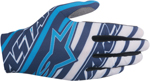 ALPINESTARS MX Motocross Offroad DUNE Gloves (Navy/White/Cyan)