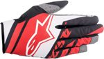ALPINESTARS MX Motocross Offroad SUPERMATIC Gloves (Red/White/Black)