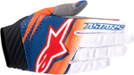 ALPINESTARS MX Motocross Offroad VENOM Gloves (Orange/White/Navy)