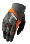 THOR MX Motocross Men's 2017 REBOUND Gloves (Charcoal/Orange)