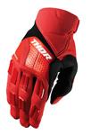 THOR MX Motocross Men's 2017 REBOUND Gloves (Red/Black)