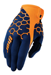 THOR MX Motocross Men's 2017 DRAFT Gloves (COMB Navy/Orange)