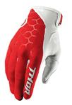 THOR MX Motocross Men's 2017 DRAFT Gloves (INDI Red/White)