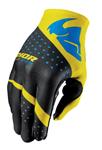 THOR MX Motocross Men's 2017 INVERT Gloves (RHYTHM Yellow)