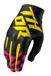 THOR MX Motocross Men's 2017 VOID Gloves (DAZZ Magenta/Black)