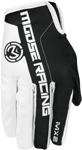 MOOSE Racing MX Motocross Men's 2017 MX2 Gloves (White/Black)