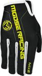 MOOSE Racing MX Motocross Men's 2017 MX2 Gloves (Black/Hi-Viz Yellow)