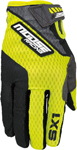 MOOSE Racing MX Motocross Men's 2017 SX1 Gloves (Hi-Viz Yellow/Black)