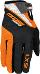 MOOSE Racing MX Motocross Men's 2017 SX1 Gloves (Orange/Black)