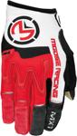 MOOSE Racing MX Motocross Men's 2017 MX1 Gloves (Red/White)