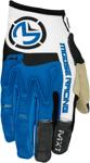 MOOSE Racing MX Motocross Men's 2017 MX1 Gloves (Blue/White)