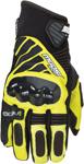 MOOSE Racing Offroad Men's 2017 ADV1 Short Cuff Gloves (Black/Hi-Viz Yellow)
