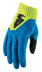 Thor MX Motocross Men's Rebound Gloves (Electric Blue/Acid)