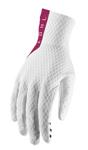 Thor MX Motocross Men's Agile Gloves (White/Maroon)