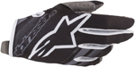 Alpinestars MX Motocross Radar Gloves (Black/Mid Gray)