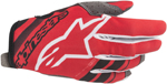 Alpinestars MX Motocross Radar Gloves (Red/Black)
