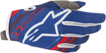 Alpinestars MX Motocross Radar Gloves (Blue/Red/White)