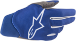 Alpinestars MX Motocross Dune Gloves (Blue)