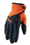 Thor MX Motocross Youth Spectrum Gloves (Dark Blue/Orange)