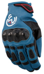 Moose Racing MX Off-Road XCR Adventure Touring Gloves (Blue/Black)