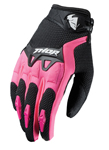 THOR MX Motocross Women's 2017 SPECTRUM Gloves (Black/Pink)