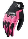 THOR MX Motocross Women's 2017 SPECTRUM Gloves (Black/Pink)