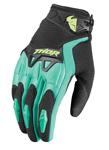 THOR MX Motocross Women's 2017 SPECTRUM Gloves (Black/Teal)