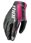 THOR MX Motocross Women's 2017 VOID Gloves (Black/Pink)